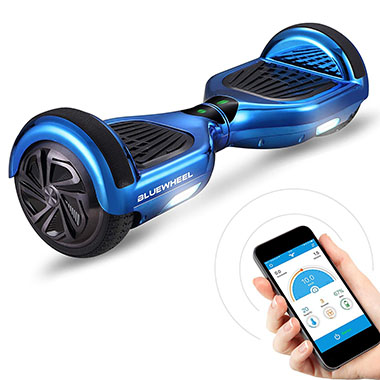 HX310s hoverboard bluewheel