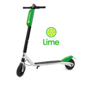 trottinettes Marque Lime